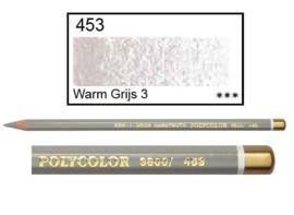 KIN-Polycolor nr.453 warm grijs 3