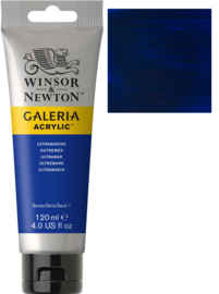 no.660 - Galeria Acrylic Ultramarine 120 ml tube