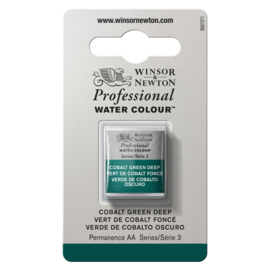 W&N Pro Water Colour ½ napCobalt Green Deep  S.3