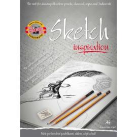 KOh-I-Noor Schetsblok Inspiration A4 (voorbedrukt)