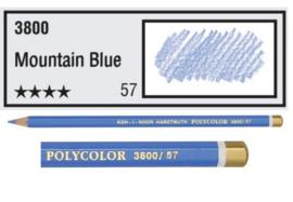 KIN-Polycolor nr.57   Mountain  Bleu