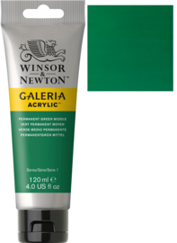 no.484- Galeria Acrylic Perm. green middel 120 ml tube