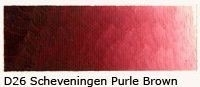 D-26 Scheveningen purple brown 40ml