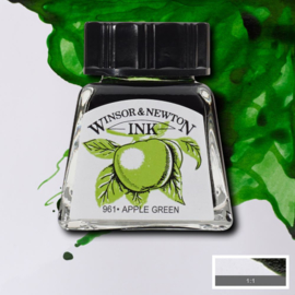 Winsor en Newton  Drawing Inkt Apple Green