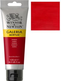 no.203 - Galeria Acrylic Crimson 120 ml tube
