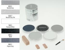PanPastel Grey Set 5 stuks