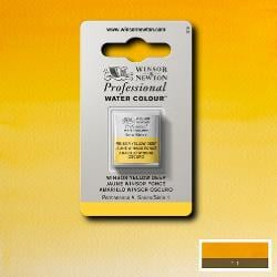 W&N Pro Water Colour ½ nap Winsor Yellow Deep S.1