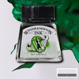Winsor en Newton  Drawing Inkt Emerald