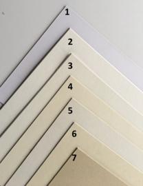 Passe-Partouts White & Cream  tinten  op maat gemaakt vanaf: