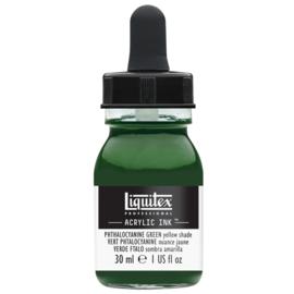 Liquitex Acrylic ink PHTHALOCYANINE GREEN (YELLOW SHADE)