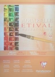 Clairefontaine Etival 300 grams Aquarelblok A3 10vel