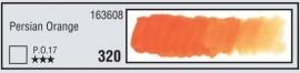 320-Persian oranje- aquarel napje