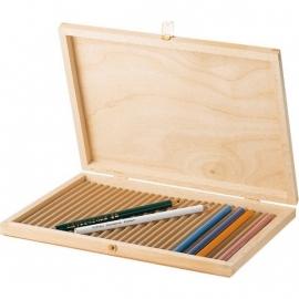 Potloden kist  voor 28 potloden