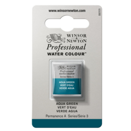 W&N Pro Water Colour ½ nap Aqua green S.3