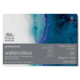 Winsor & Newton Pro- Aquarelpapier 17.8 x 25.4 cm  Rough (grof)