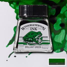 Winsor en Newton  Drawing Inkt Brilliant Green