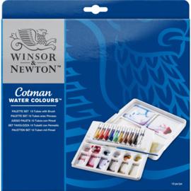 Winsor & Newton Cotman Palette set 10 tubes