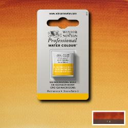W&N Pro Water Colour ½ nap Quinacridone Gold S.3