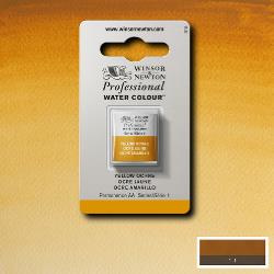W&N Pro Water Colour ½ nap Yellow Ochre S1