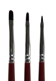 Mus Brush Serie 101 - Synthetisch- Kattentong - nr. 000 (per stuk)