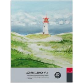 AMI Aquarel blok 200 grams- 30x40 cm
