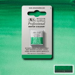 W&N Pro Water Colour ½ nap Winsor Green ( Yellow shade) S.1