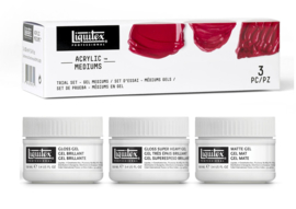 Liquitex medium set 3 x 100 ml pot