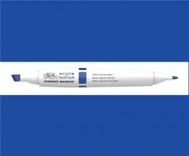 W&N Pigment marker Violet bleu deep  038