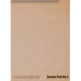 BROWN PAD no. 2. A3