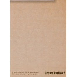 BROWN PAD no. 2. A4