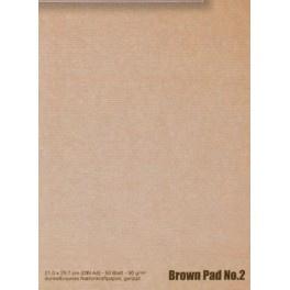 BROWN PAD no. 2. A4