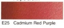E25- Cadmium red purple