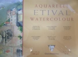 Clairefontaine Aquarelblok 200 grams Etival  42x56cm 25 vel