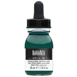 Liquitex Acrylic ink PHTHALOCYANINE GREEN (BLUE SHADE)
