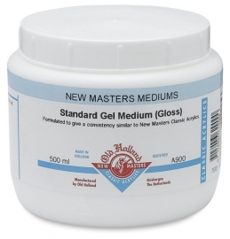 NM-900-Standard gel medium gloss 500ml