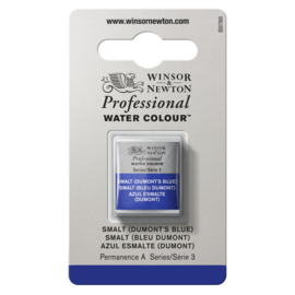 W&N Pro Water Colour ½ nap Smalt (Dumont's bleu ) S.3