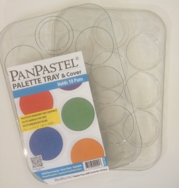 Tray palette for 10 kleuren ( leeg)