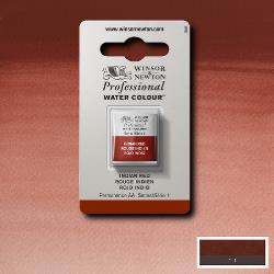 W&N Pro Water Colour ½ nap Indian Red S.1