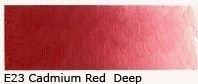E-23 Cadmium red deep 40 ml