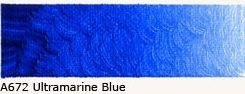 A-672 Ultramarine Blue Acrylverf 60 ml