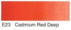 E23- Cadmium red deep