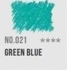 CAP-pastel Green bleu 021