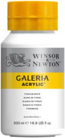Winsor & Newton Galeria Acrylic Titanium white 500 ml