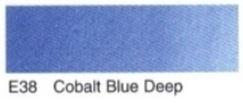 E38- Coblat bleu deep