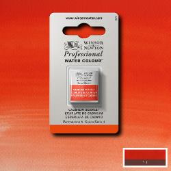 W&N Pro Water Colour ½ nap Cadmium  Scarlet S.4