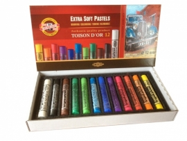Extra soft pastel Set 12 stuks