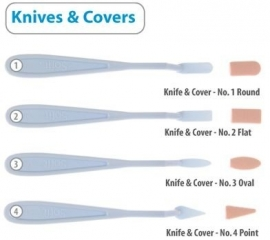 Set Knifes & Covers mix