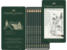 Faber Castell 9000 Designset