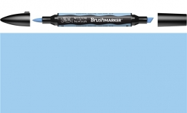 W&N Brushmarker B318- Cloud Bleu