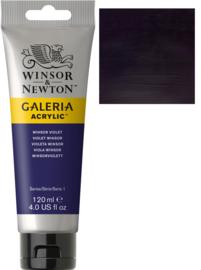 no.728- Galeria Acrylic Winsor violet 120 ml tube
